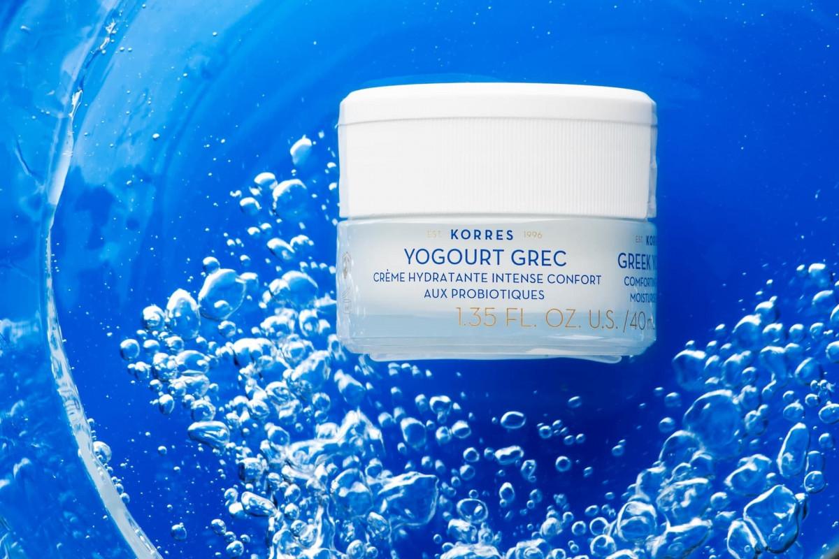 Йогуртовый крем KORRES - спасение для сухой кожи