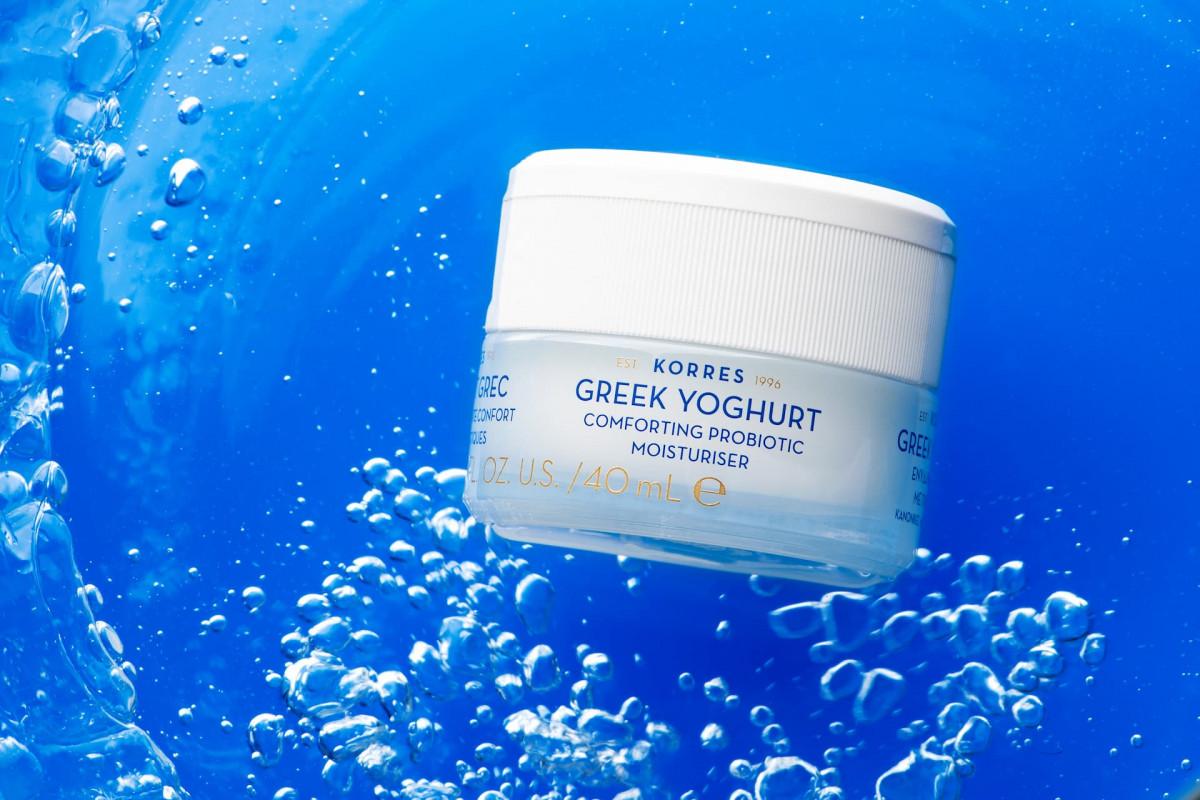 Korres Greek Yoghurt - греческий йогурт - суперфуд для кожи