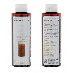 Шампунь для тонких ломких волос протеины риса и липа 250 мл