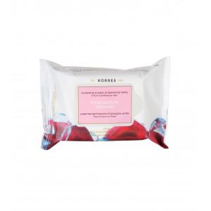Очищающие салфетки для снятия макияжа для жирной и комб. кожи (25 шт)