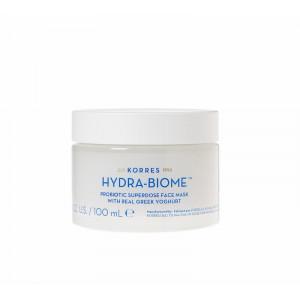 Йогурт увлажняющая маска для лица с пробиотиками Hydra-Biome